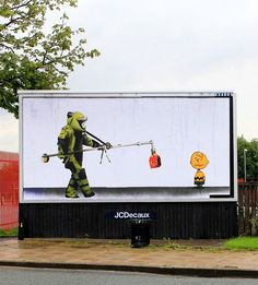 A Street Art Project That Criticizes Advertising And Consumerism - DesignTAXI.com