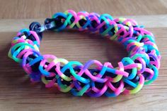 A personal favorite from my Etsy shop https://www.etsy.com/listing/229348192/loom-band-bracelet-fusilli