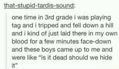 """""""I laid there in my own blood"""""""