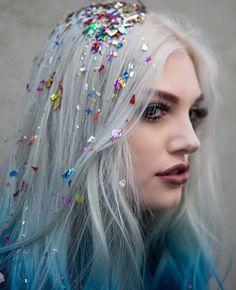 Glitter roots, still love it x                                                                                                                                                                                 More