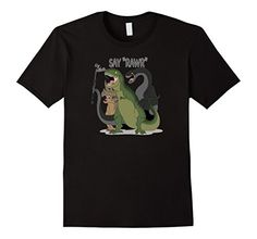 Say Rarw Dinosaur Selfie Graphic Tee Shirt #Selfie T-Rex and his dino buddies have all gotten together with a selfie stick for an epic photo opp. Say Rarw and smile, or show your teeth. This funny graphic T-Shirt is printed on 100% cotton. Geek Gear; Stuff You Want to Wear.