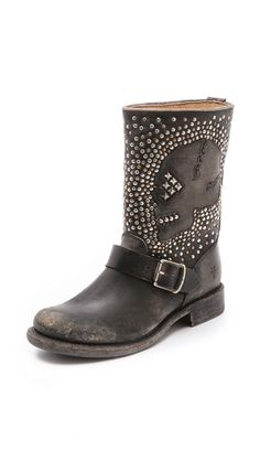 Frye Jenna Skull Stud Booties Is it really necessary to make these so far out of my price range :(