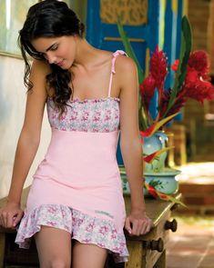 Imagen relacionada Cute Sleepwear, Lingerie Sleepwear, Nightwear, Sexy Night Dress, Night Gown, Girly Outfits, Cute Outfits, Baby Doll Nighties, Pretty Lingerie