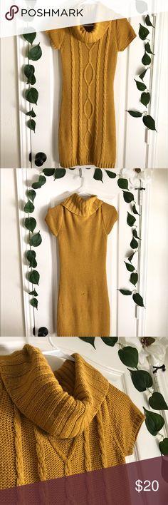 Mustard Yellow Dress Mustard Yellow dress perfect for the Fall season. Dresses Midi