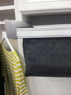 Large Quilted Basket, Chrome   California Closets Twin Cities