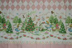 Japanese Cotton Fabric Harajuku Dolls, Alice in Wonderland 1 Yard