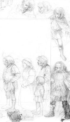 Sketch by Alan Lee Alan Lee, Tolkien, Illustrations, Illustration Art, Into The West, Character Sketches, Fanart, Middle Earth, Lord Of The Rings