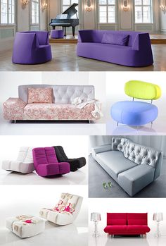 Colorful Modern Furniture By Bruhl (Bruehl)   Captivatist