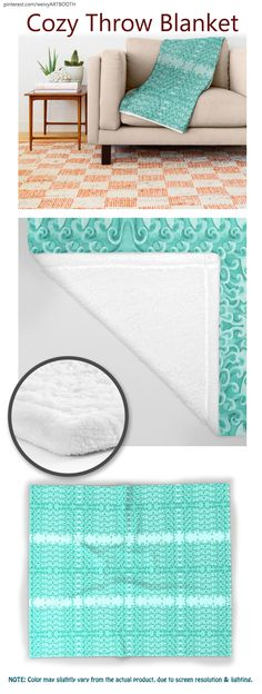 Smooth THROW BLANKET in 3 different sizes. Model name: Gap Teal Lacy Wave Line designed by We~Ivy. Follow We~Ivy's Art BootH for more special #art #gift ideas for #holiday seasons or # birthday #party, to find great #home decors or stuff just to spoil yourself. Line Design, My Design, Waves Line, Presents For Friends, My Themes, Wooden Shelves, Ikea Hack, Hand Towels, Beach Towel