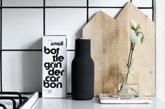 Kitchen with Style . Interior Design .RAW Design blog - Menu pepper grinder . Home Decor . Minimal .