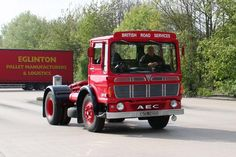 AEC Egronomic Vintage Trucks, Old Trucks, Pallet Manufacturers, Classic Trucks, Classic Cars, Commercial Vehicle, Old Cars, Buses, Marshall Major