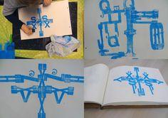 Lettervormen #cultuurmenu Hoogeveen Leren, creëren, inspireren. Groep 3-4 Hoeksteen Nieuwlande. www.cultuurmenuhoogeveen.nl