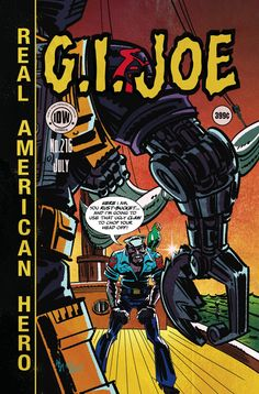 G.I. Joe: A Real American Hero (2008) Issue #216