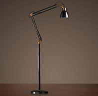 1930s Studio Task Floor Lamp  restoration hardware if candel doesn't come thru..