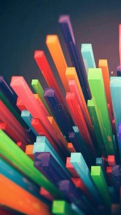 Multicolor tetris towers wallpaper