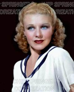 GINGER ROGERS IN SAILOR SHIRT 5 DAYS 8X10 BEAUTIFUL COLOR PHOTO BY CHIP SPRINGER. Please visit my Ebay Store at http://stores.ebay.com/x5dr/_i.html?rt=nc&LH_BIN=1 to see the current listings of your favorite Stars now in glorious color! Message me if you would like me to relist your favorites. Check out my New Youtube videos at https://www.youtube.com/channel/UCyX926rA5x4seARq5WC8_0w