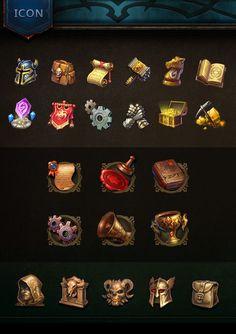 「game ui icon set」の画像検索結果