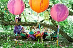 Fairy Birds party   100 Layer Cakelet