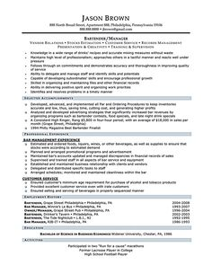 Example Server Resume Hostess  Resume Examples  Pinterest  Resume Examples And Sample .