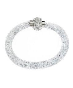 Look what I found on #zulily! Swarovski® Crystal & Silvertone Stardust Wrap…