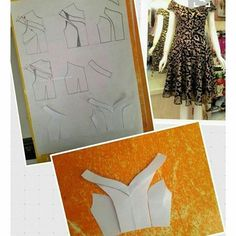 Dress pattern sewing design 64 Ideas for 2019 Techniques Couture, Sewing Techniques, Pattern Cutting, Pattern Making, Dress Sewing Patterns, Clothing Patterns, Drape Dress Pattern, Skirt Patterns, Coat Patterns