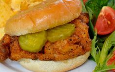 This homemade Chick-fil-A chicken sandwich is fingerlickin' good!