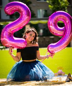 Ending 20's with a bang with a 29th Birthday Photo Shoot  -Tulle skirt and crop top (stylebymary.com)