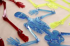 Great blog site - The Laser Cutter, lots of great project ideas. Like these skeletons - good STEM link