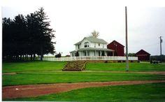 Backyard baseball field for the BOYS!