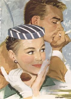 Story illustration by Andy Virgil from The American Magazine, November 1955