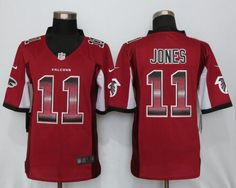 f4d1da4da Atlanta Falcons 11 Jones Red Strobe Limited Jersey New England Patriots  Football, Alabama Football,