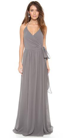 Joanna August DC Halter Wrap Dress | SHOPBOP