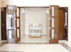 Minimalist Puja Room                                                       …