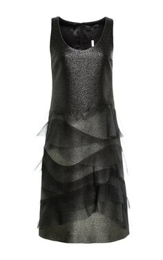 Ruffled Metallic Ombre Dress by Marc Jacobs Now Available on Moda Operandi