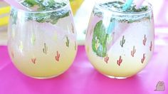 Les mojitos d'Emma ❤ Mojito, Youtubers, Wine Glass, Cool Stuff, Drinks, Colors, Summer, Diy, Food