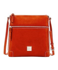 Another great find on #zulily! Ginger Leather Crossbody Bag #zulilyfinds