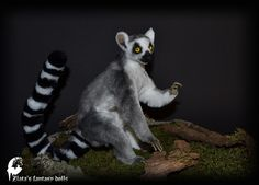 Zlata's fantasy dolls - Lemur