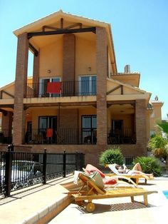 Villas in spain are WAY affordable... this one was ours in Granada, Spain. Muy Grande! ;p