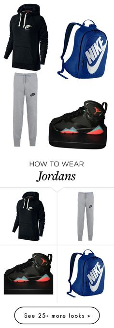"""Untitled #1"" by bjbj56104 on Polyvore featuring NIKE"
