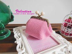 Tutorial/Diy Portamonete/Coin purse Uncinetto/Crochet Base Quadrata (Pro...