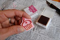 hand carving your own stamps tutorial ~ from Mama Moontime