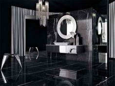 17 idées de salle de bains noire