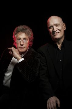 Wilko Johnson and Roger Daltrey,