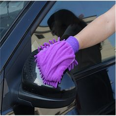 Sponges, Cloths & Brushes Car Wash Accessories 1pc Car Wash Clean Sponge Gloves Glass Cleaner Blue Wave Car Wash Washer Auto Care Cleaning Tool Car Styling For Dropshipping Customers First