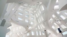 wonderfully complex Lou Ruvo Center Interior, by Frank Gehry