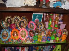 Smaller Kiddles including lockets,  jewelry, sweet treat sodas, and zoolery.
