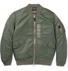 The bomber jacket has long been sought after for its time-tested good looks and practicality. A fine example, <a href='http://www.mrporter.com/mens/Designers/Beams_Plus'>Beams Plus</a>' army-green version is generously filled with soft and lightweight down for unbeatable insulation. It has an array of utility pockets and ribbed woollen trims for the most comfortable fit.
