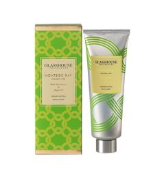 Glasshouse Hand Creme, Montego Bay. Coconut & Lime. From RedCurrent
