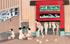Japanese bathhouses lose relevance in modern culture but gain popularity as a tourist attraction