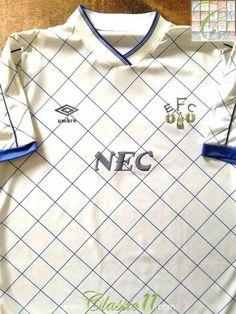 Official Umbro Everton 3rd football shirt from the 1992/1993 season.